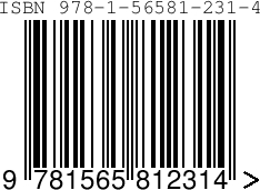 1 ISBN Barcode Image